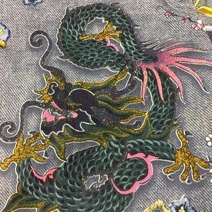 Escada Dragon Tatoo Pants